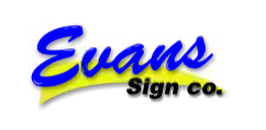 Evan's Signs logo